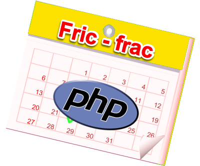 Logo Fric-frac project in PHP