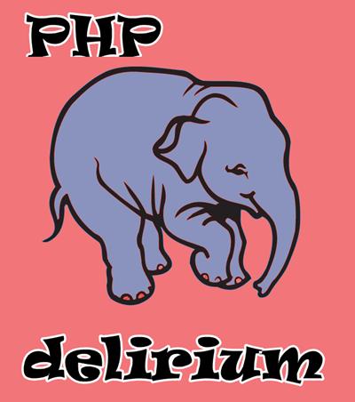 Afbeelding PHP delirium