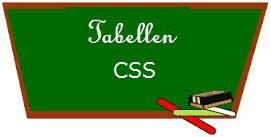 CSS Tabellen